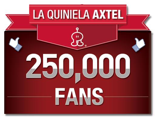 Quiniela X-tremo AXTEL