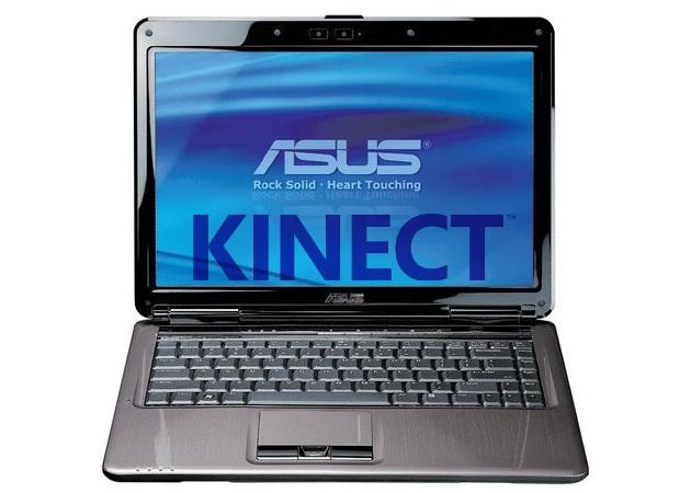 laptop kinect