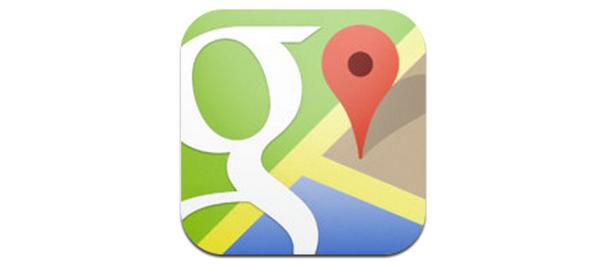 google maps ios logo