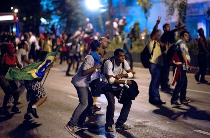 Manifestaciones Brasil