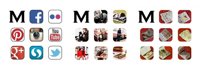 new moleskine monogram logo