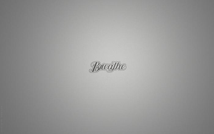 respira, wallpaper minimalista