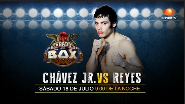 Chávez Jr vs Dorado Reyes en vivo