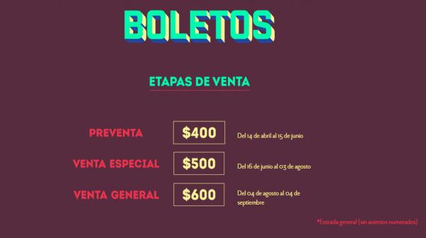 Boletos Picnic Arts Media 2015