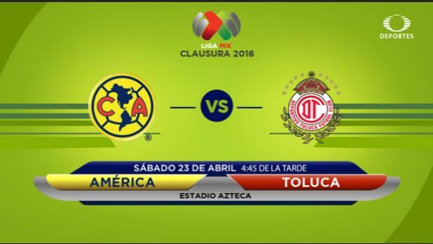 América vs Toluca en vivo