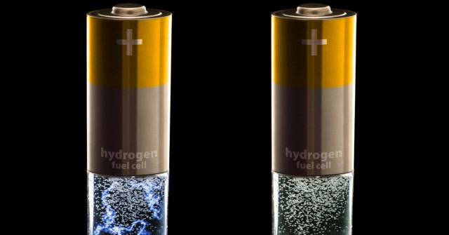 pilas de hidrógeno