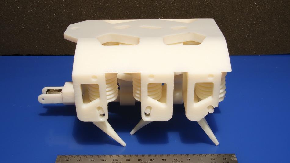 robot en 3D