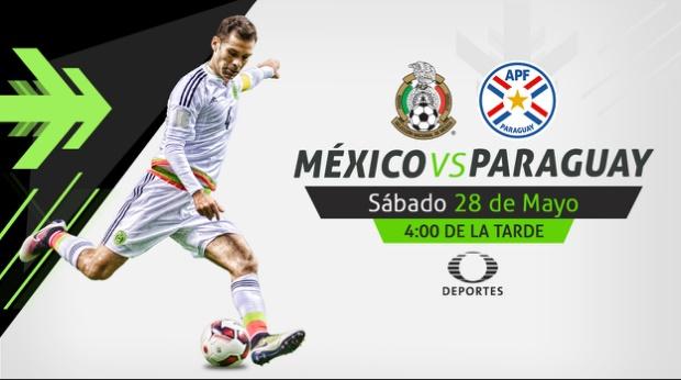 México vs Paraguay en vivo