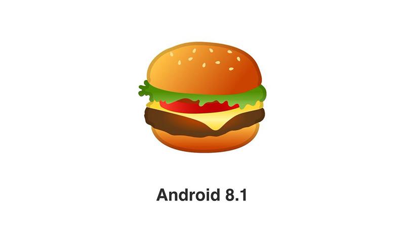 Google al fin arregla el controvertido emoji de la hamburguesa en Android 8.1