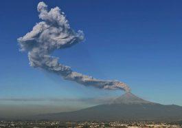 Aumenta Alerta volcánica del Popocatépetl a marilla Fase 3