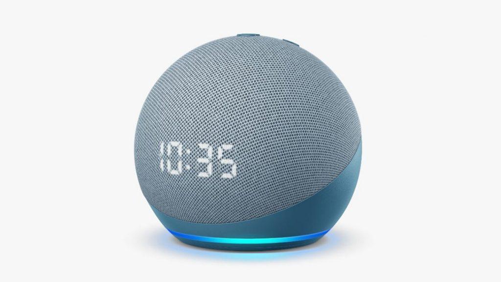 Echo Dot 4ta Generacion Con Reloj 1